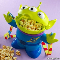 Little Green Man Popcorn Bucket  2100 yen    ♦ Disney Sea exclusive!