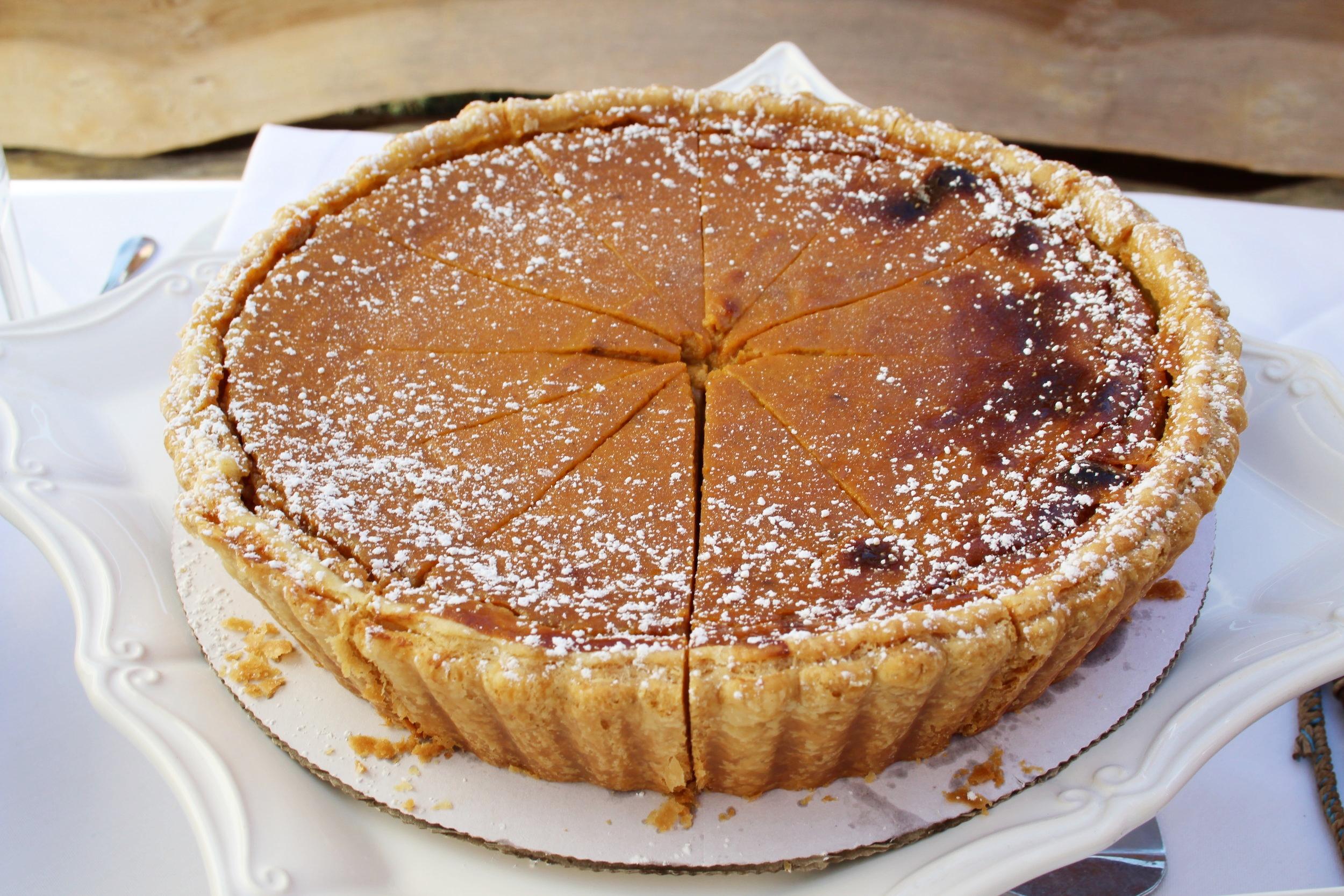 """Pumpkin """"Pie"""" Cheesecake"""