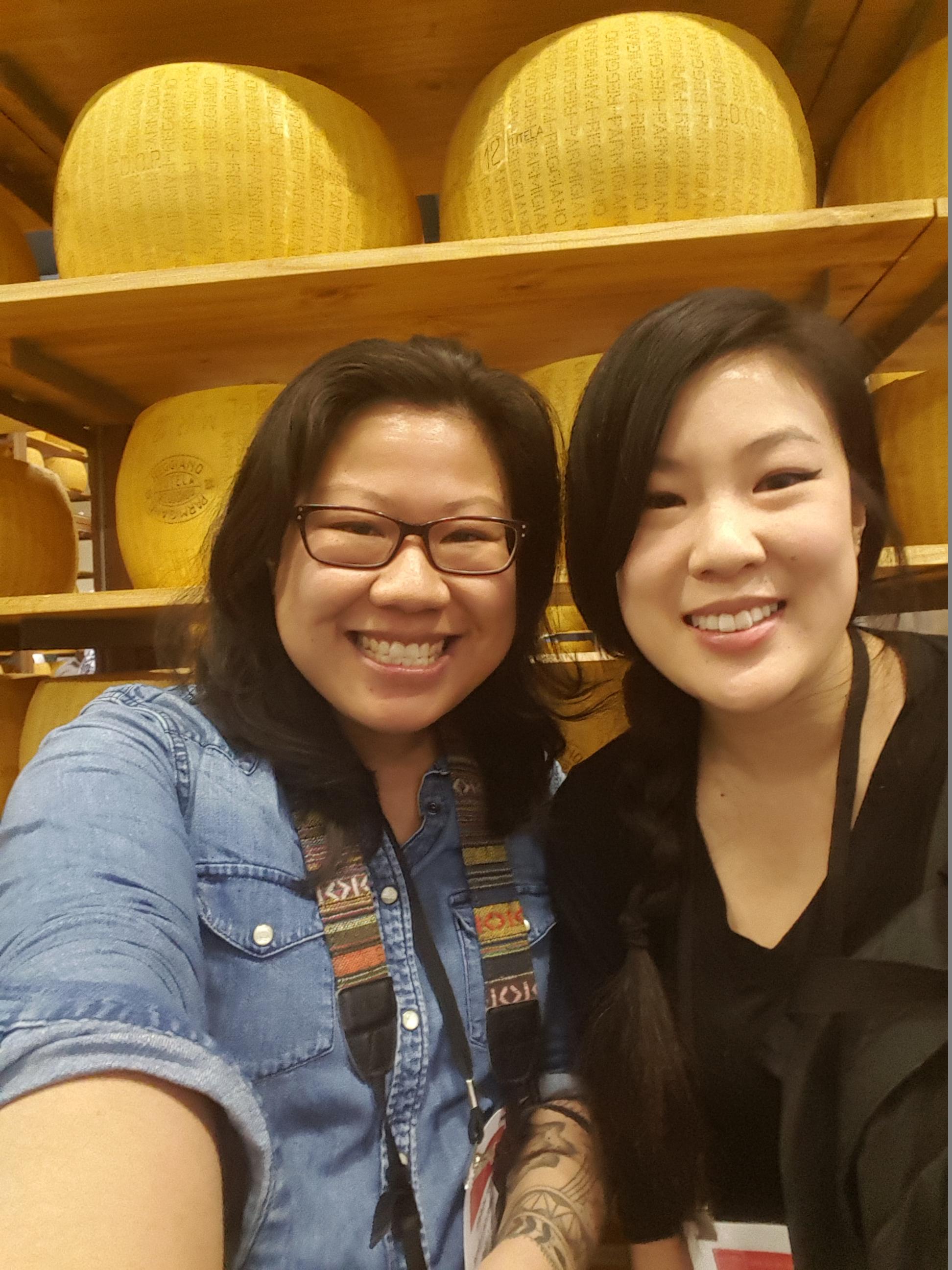 Brenda (from  Bites & Bourbon ) and I