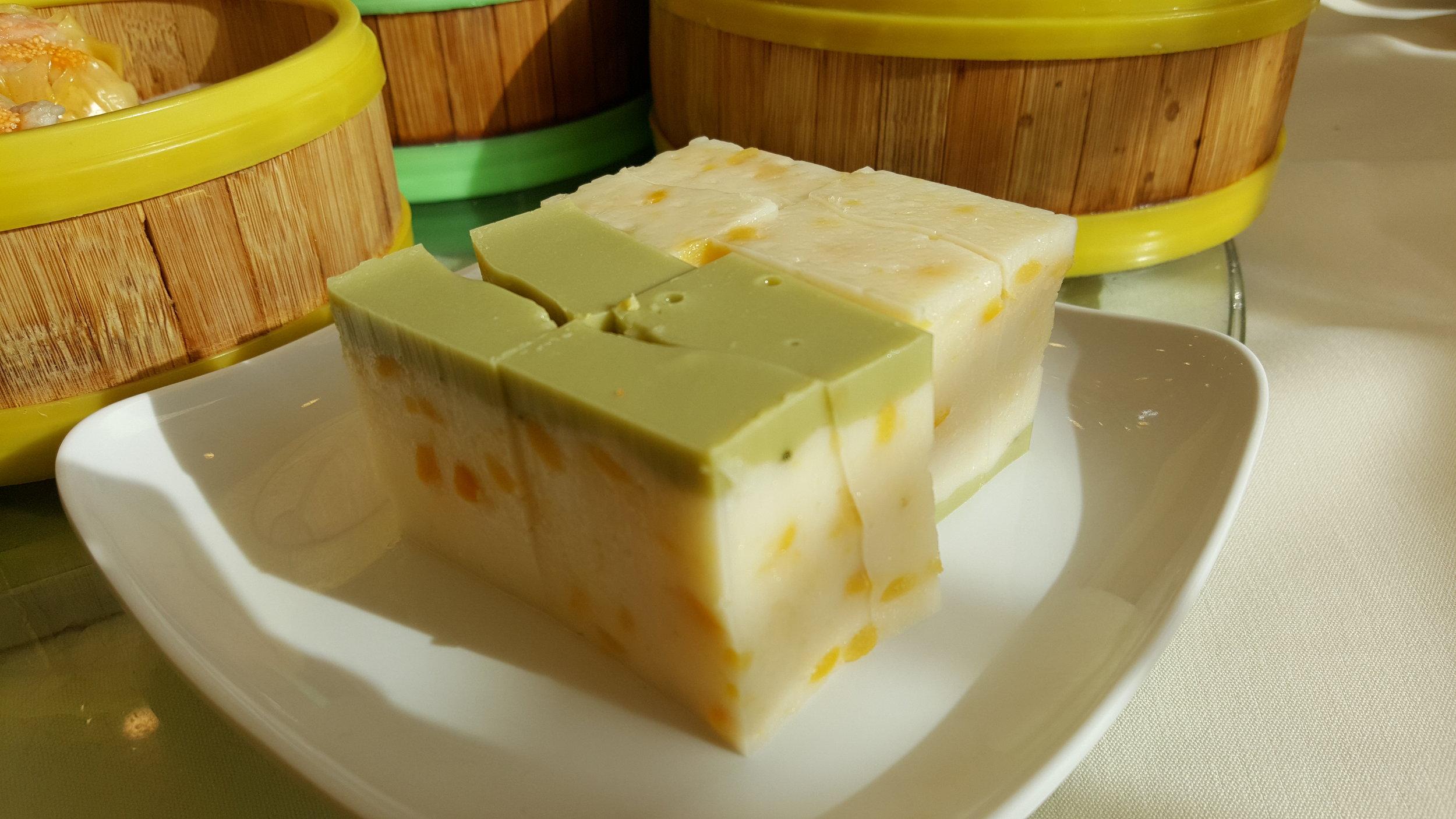 Mung Bean Coconut Flavor Pudding