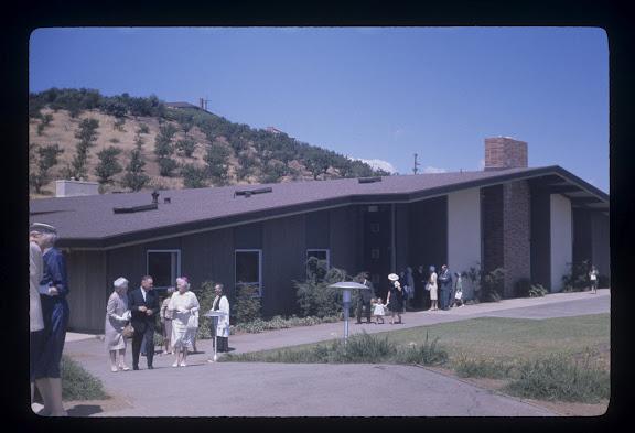 Christ Church parish hall early 1960s