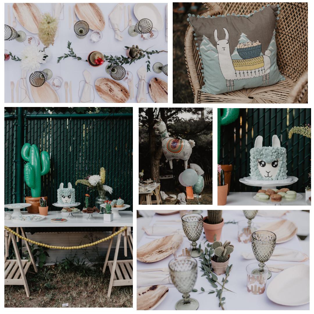 Llama Baby Shower   Photographe/Photographer  Julia Garcia-Prat   Location / Rentals  Le Coeur Bohème   Gateau /Cake  Bayard Gateaux