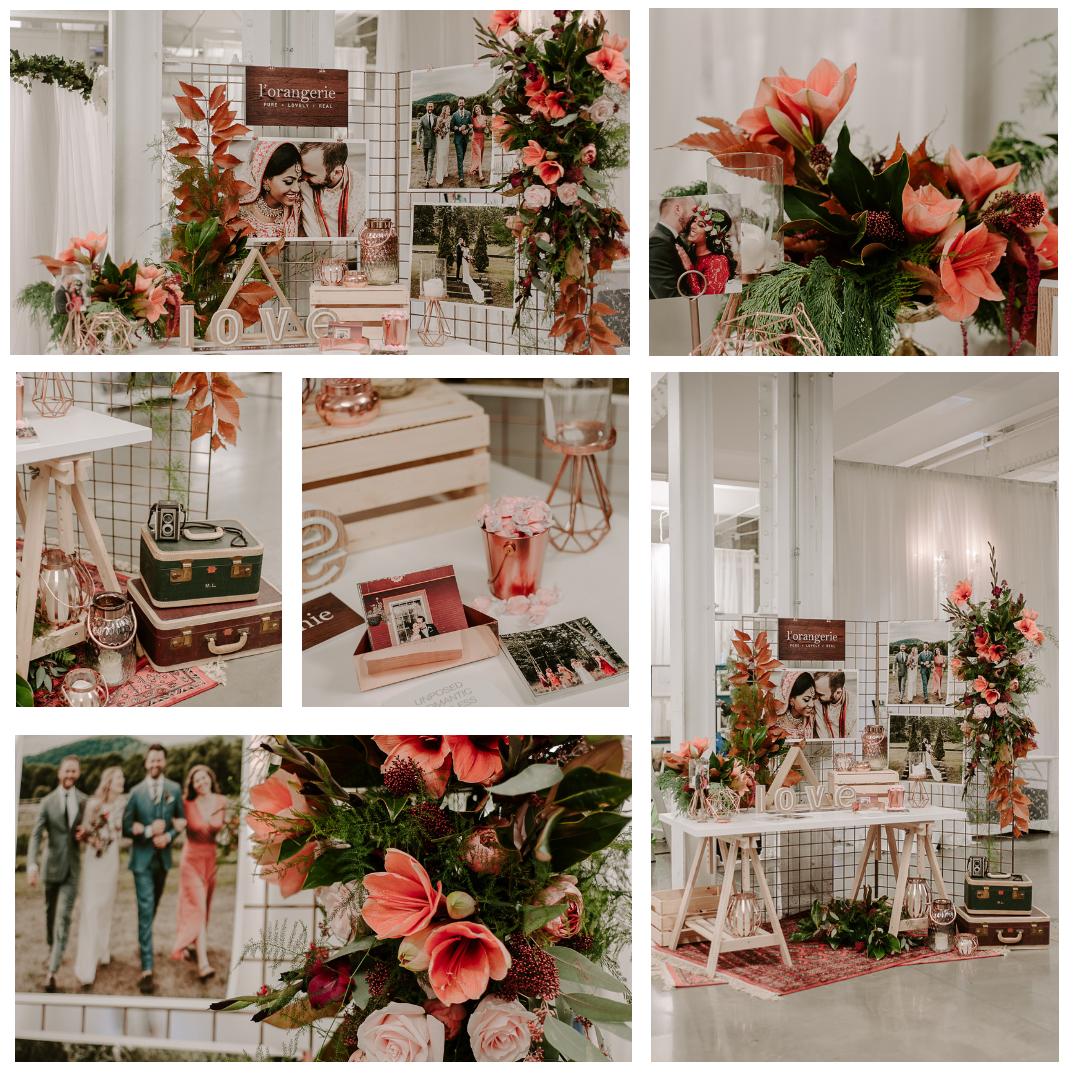 Elegant Wedding Show   Photographe/Photographer  L'orangerie Photography   Fleurs / Flowers  Oh Fleurs