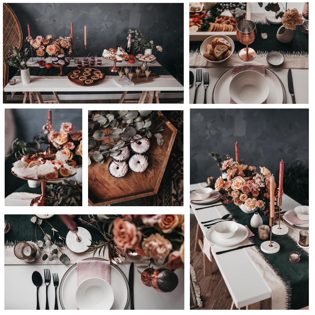 TEAM SHOOT   Location / Venue  Studio Giovanelli   Photographe/Photographer  Jay Zack Eli   Fleuriste / Florist  Cristina Kisil Flowers   Sucrerie / Sweets  Its sucre brun   Stylisme+Location / Styling+Rentals  Le Coeur Bohème   Vaiselle / Dishes  Mieceramics