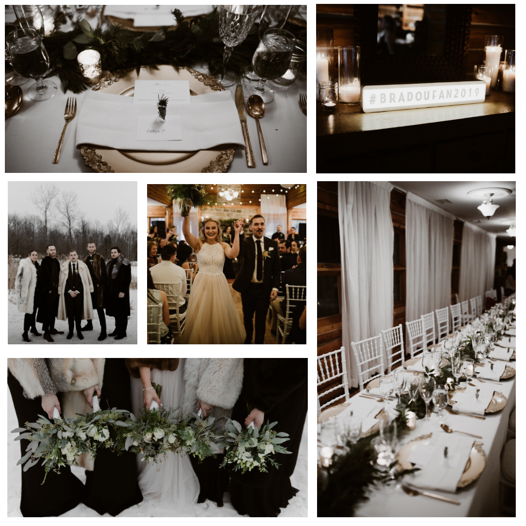 Fanny + Brad   Location / Venue  Auberge des Gallants   Photographe/Photographer  Yanick Lesperance   Planification, sylisme+location / Planning, styling+rentals  Le Coeur Bohème   Fleuriste / Florist  Kyoto Fleurs   Robe / Dress  Dream it yourself