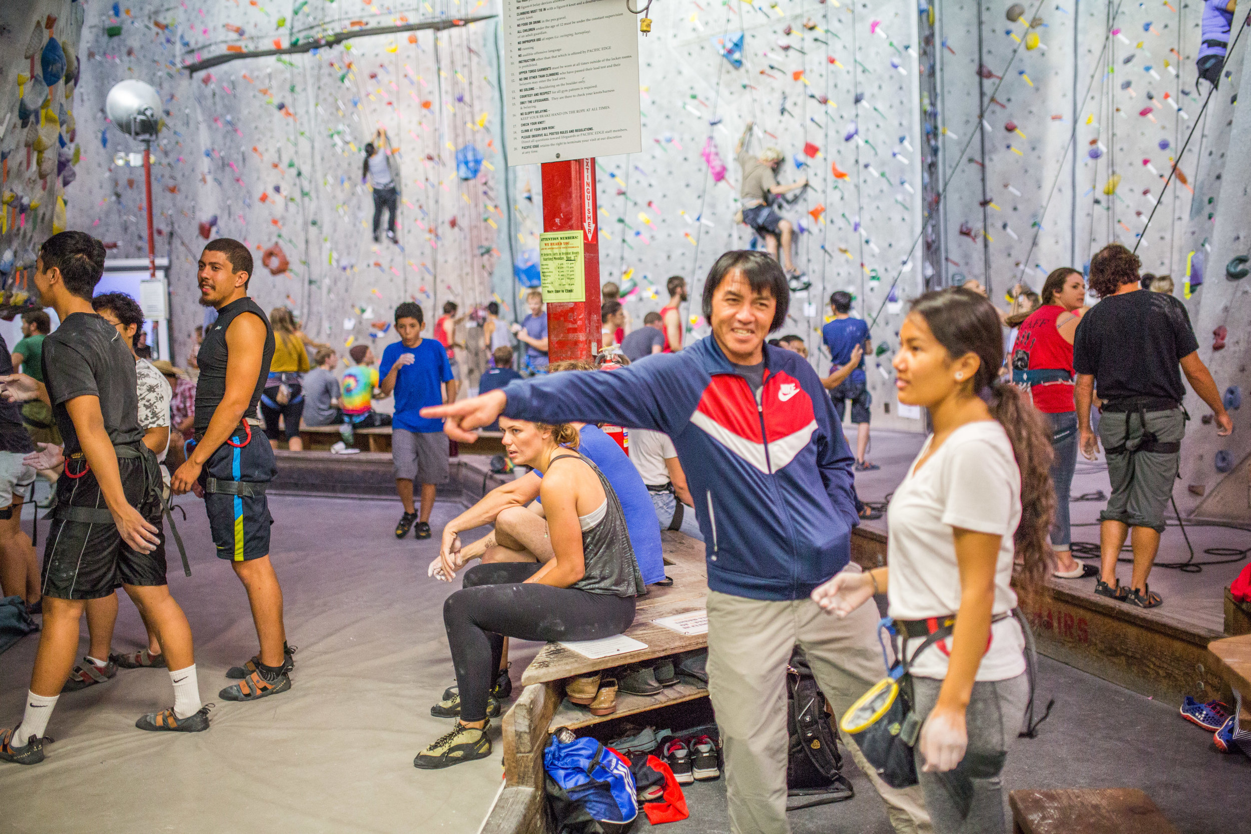 Folks having a Blast at the 2015 Climb for Nepal Event
