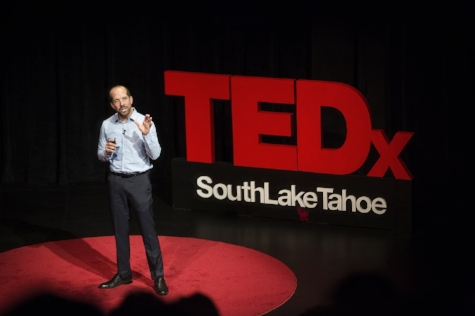 Nick Exline speaking at last year's event