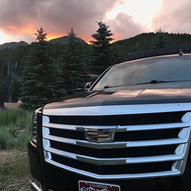 How can we get you where you want to be this weekend?! #aspen #vacation #relax #enjoy #colorado #luxury #cadillac #escalade #flyfishing #flyprivate #cozycomfort #nextlevel #custom #outdoor #concierge #resources #pinecreekcookhouse #richvalleyadventures