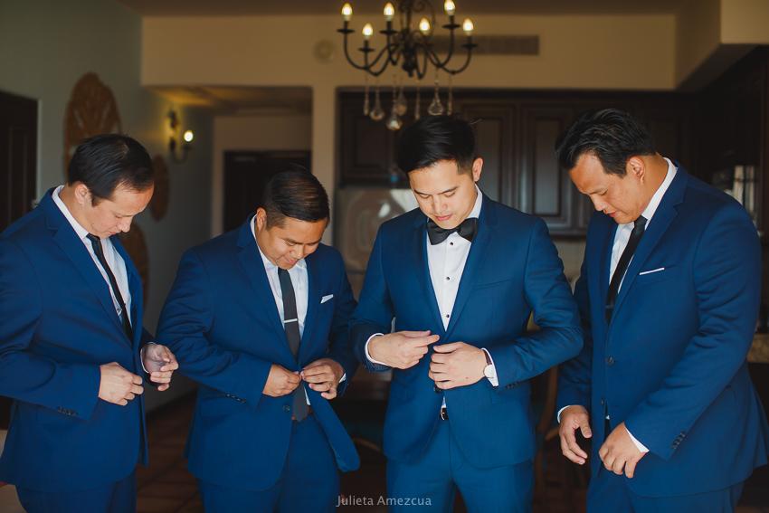 groom party sheraton cabo
