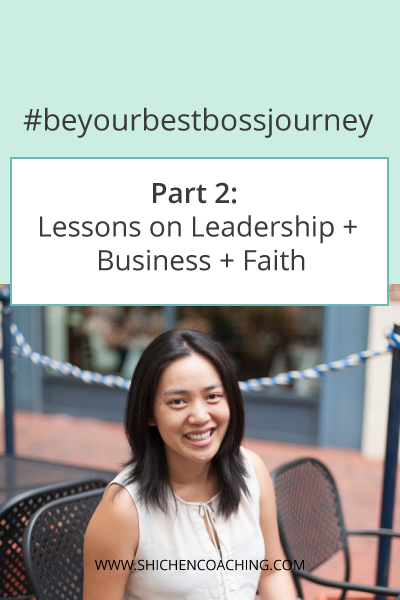 Being Your Best Boss - Part 2