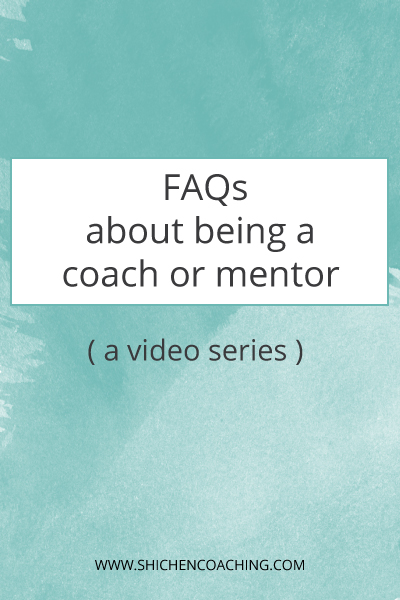FAQ about being a coach or mentor