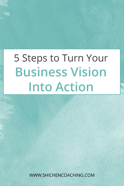 Vision Into Action by Shi Chen