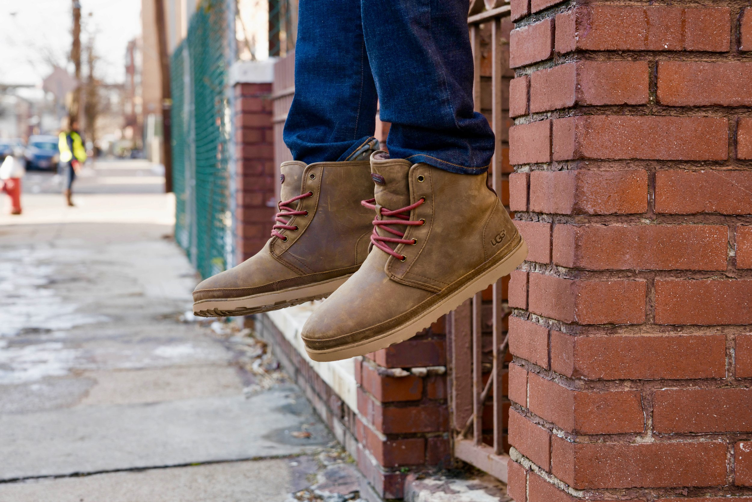 During the winter months the Harkley is a perfect boot to explore the city in.  - #UggLife #ZapposStyle
