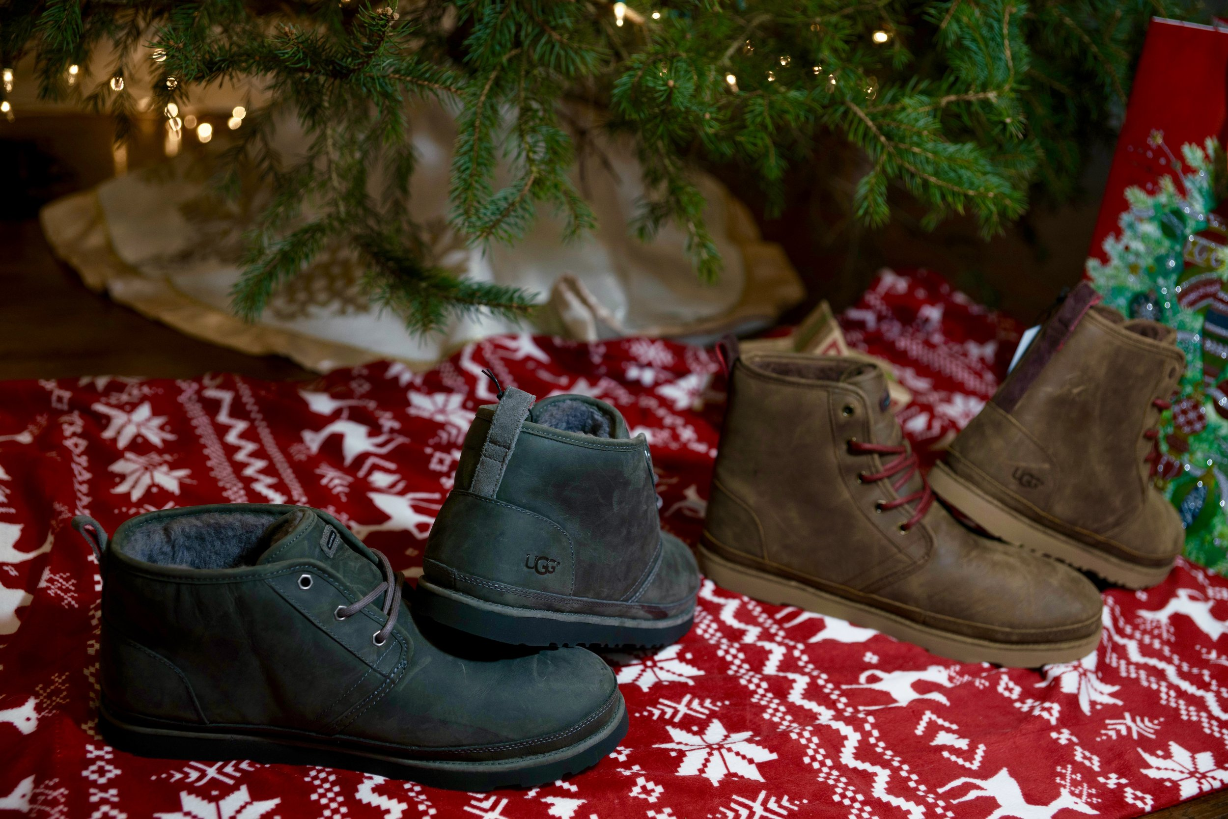 Classic & Cozy - Just what Santa ordered