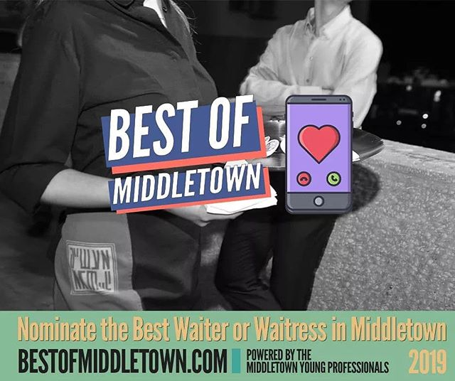They take our orders with a smile, bring our drinks, bring our food. They bus tables and hustle during dinner rush. They're always ready to do side work and at the end of the night they are exhausted. We're talking about the BEST waiters and waitresses in Middletown! Nominate your wait staff today! Voting Opens up May 1st! The best tip you can leave is the title of THE BEST! 🍽  https://bestofmiddletown.com  Share & Tag your favorite Middletown Restaurant below so they can nominate their staff!  Bourbon's Kitchen Gracie's Veracruz Mexican Restaurant Stefano's Italian Cafe Spinning Fork Middletown Triple Moon Coffee Company The Jug Taku Japanese Steakhouse GrecianDelight Middletown Java Johnny's Coffee Roaster & Cafe Murphy's Landing Casual Dining Straight Shot Coffee Co. Combs BBQ West Central Wine Mockingbirds Elrancho Grande El_Grillo Rapid Fired Pizza - Middletown The Meadows Brown's Run  #bestofmiddletown #middletownOH #livelovemiddletown #waiter #waitress #sidework