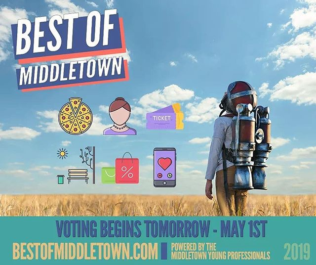 Charge your phones, update your computers, and dust off your tablets! Best of Middletown Voting is only hours away. 🤩  #bestofmiddletown #middletownOH #bestof