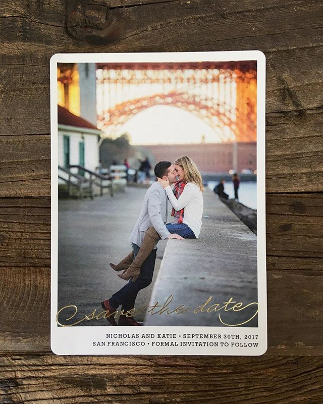 It always excites me to see what image a bride and groom choose for their Save the Date. And this one won the honor. More of this session on my journal. www.staceypentlandphotography.com/san-francisco-fall-editorial-engagement-session #SaveTheDate #STD #flashesofdelight #intimatemoment #sanfrancisco #goldengatebridge