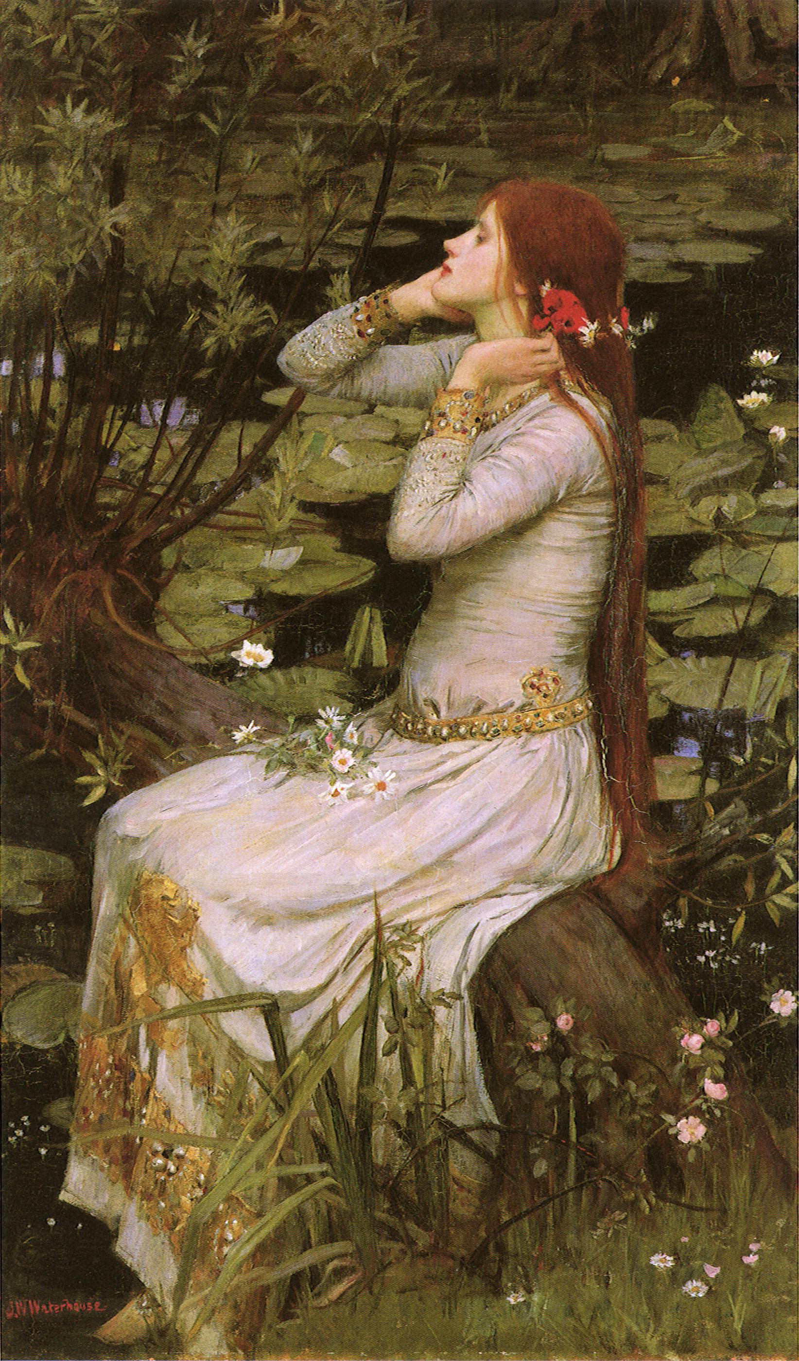 John William Waterhouse's  Ophelia , 1894.