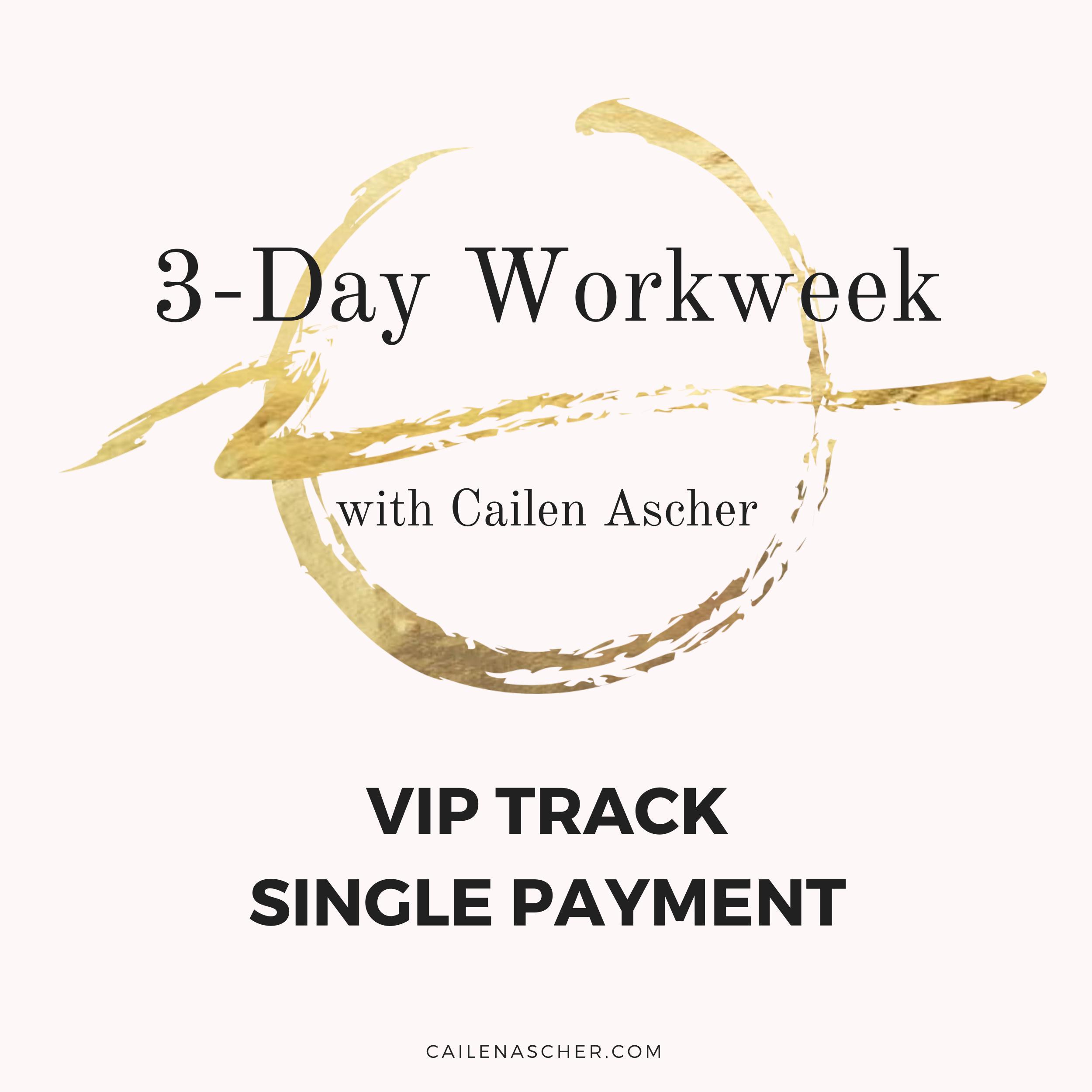 Cailen Ascher - 3-Day Workweek Program - Payment Plan Option Image - VIP Track Single Payment.jpg