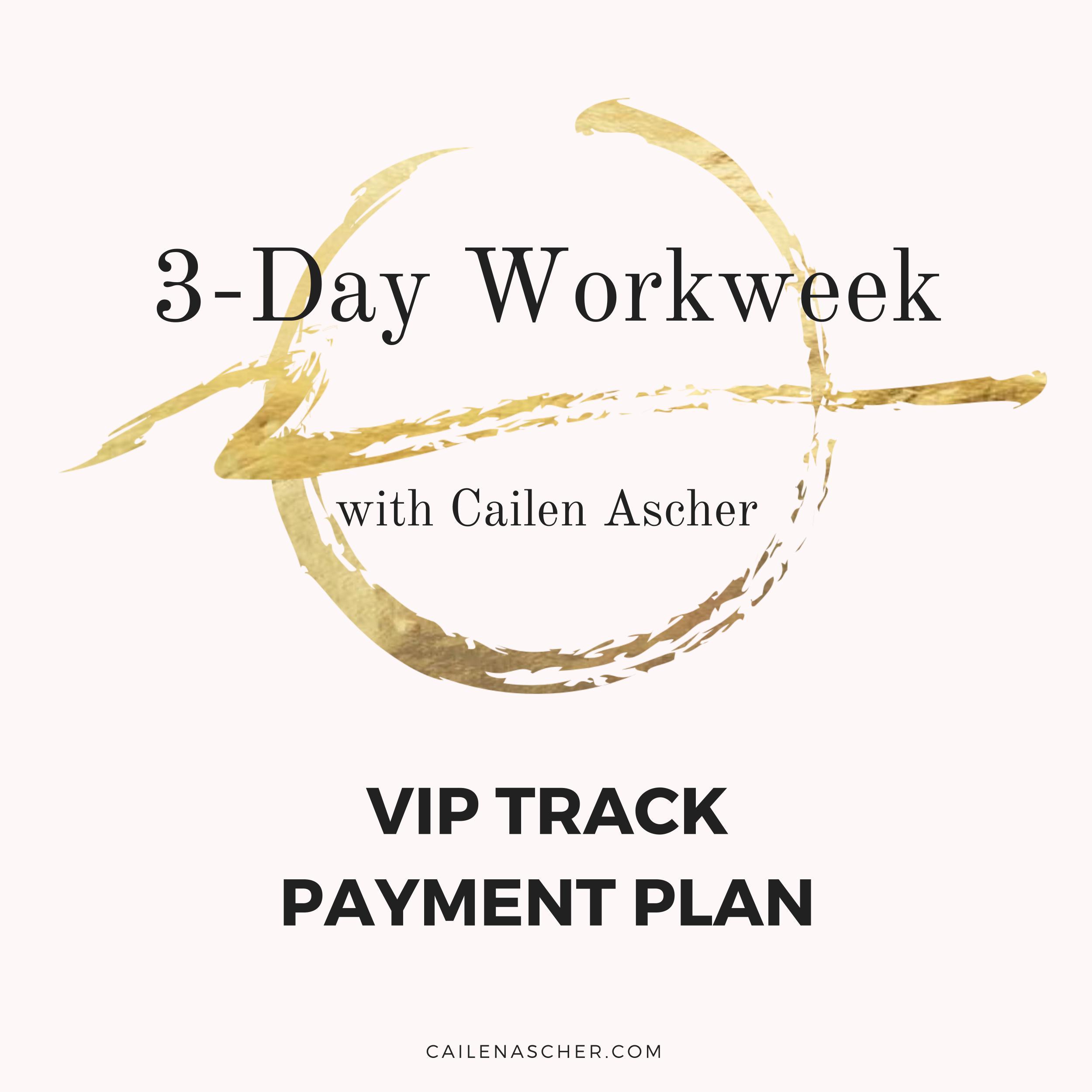Cailen Ascher - 3-Day Workweek Program - Payment Plan Option Image - VIP Track Payment Plan.jpg