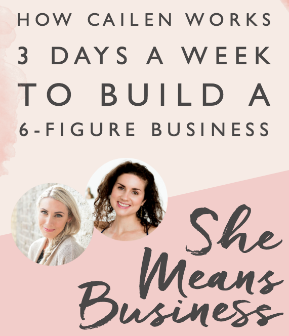 She Means Business Podcast   with Carrie Green, founder of Female Entrepreneur Association