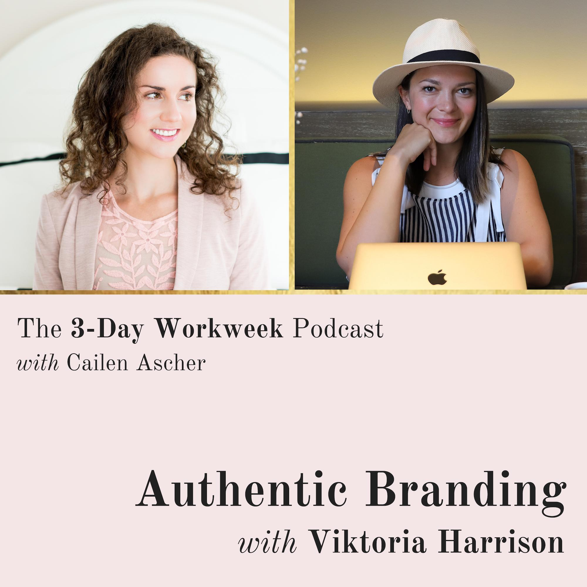 The 3-Day Workweek Podcast with Cailen Ascher - 2019-07-03 - You Are Enough with Heather Chauvin.jpg