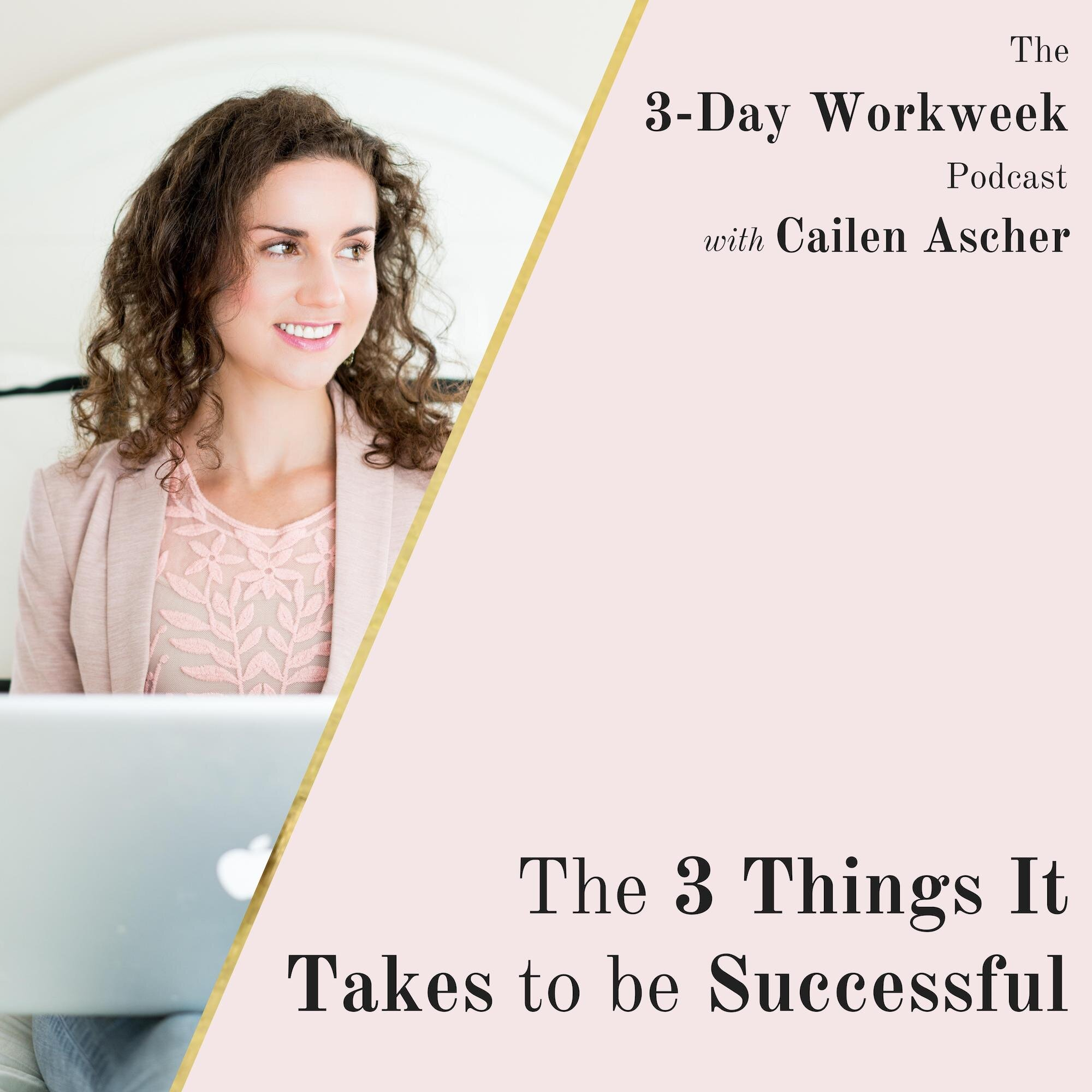 The 3-Day Workweek Podcast with Cailen Ascher - 2019-08-14 - You're the CEO of Your Life with Kelly Roach.jpg