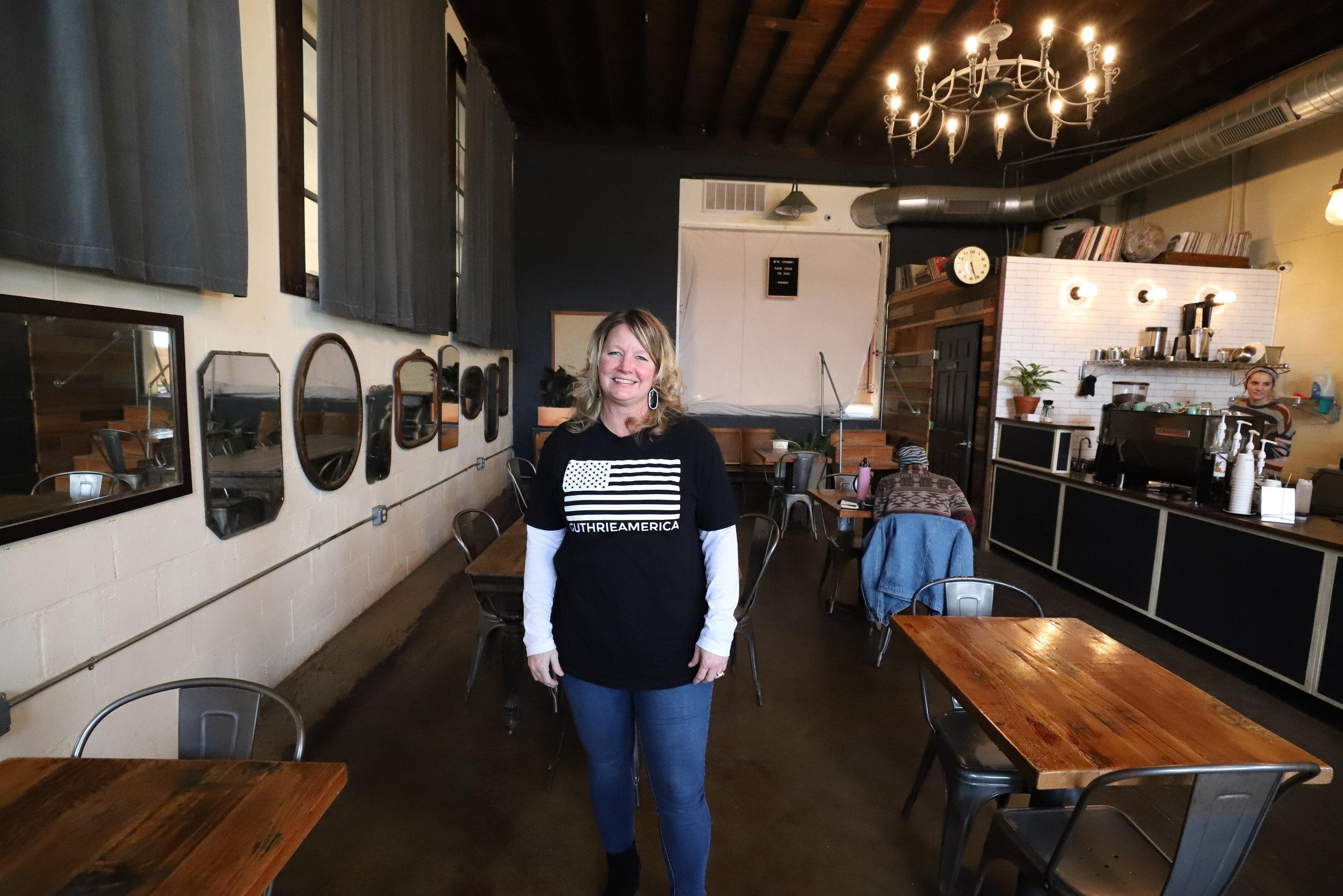 Kristal Flury at Hoboken Coffee