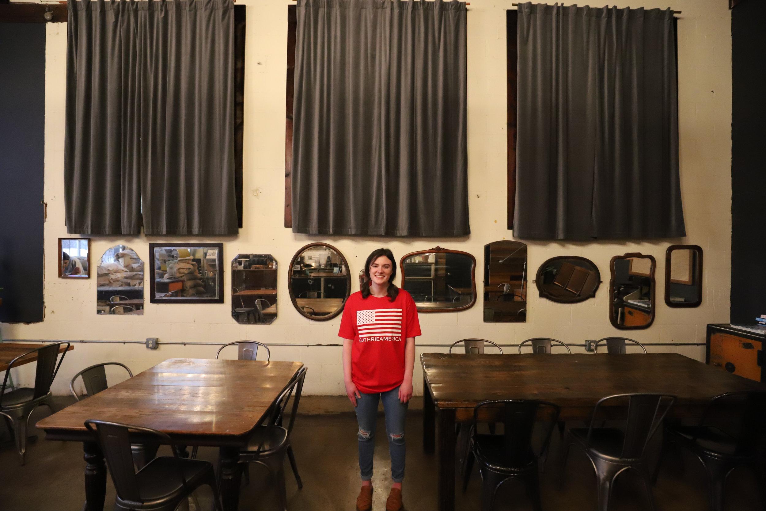 Sara at Hoboken Coffee