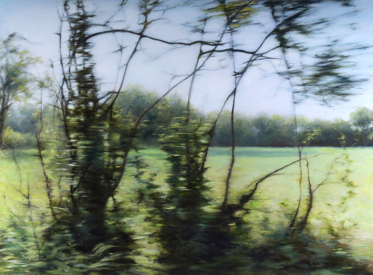 Blurred Landscape (France)