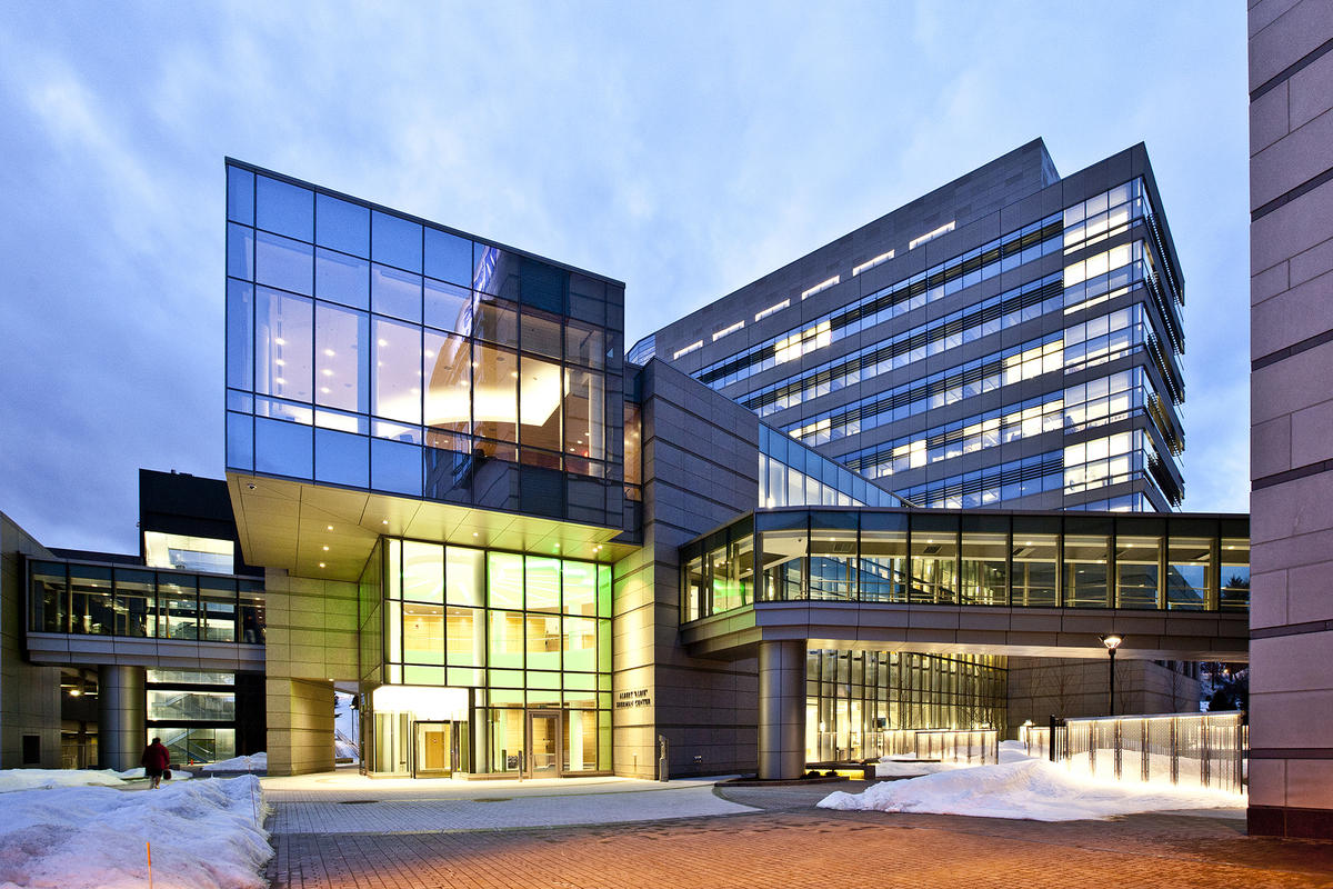 Our lab is located in the U. Mass medical school in the new Sherman center for Biomedical research.