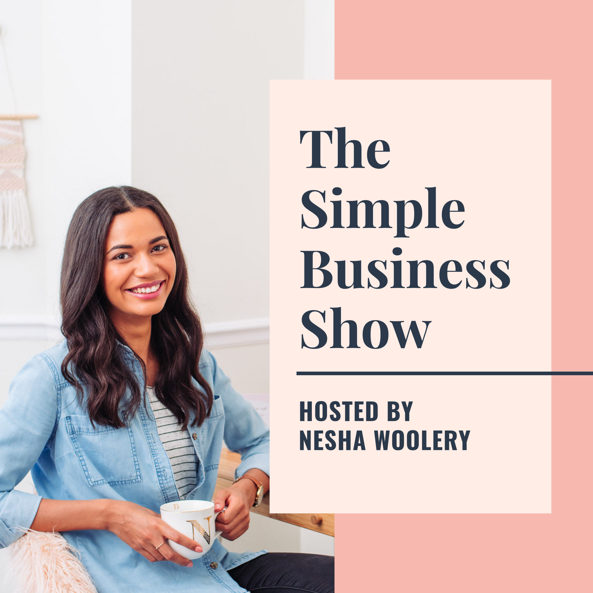 The Simple Business ShowHosted by Nesha Woolery - Nesha is all about simplifying your business! She wants you to work smarter and not harder, so she's got lots of advice about creating systems in your business to make your life 100x less stressful.
