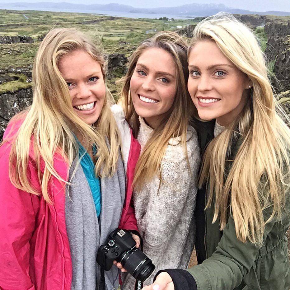 Exploring Thingvellir National Park with my best friends.