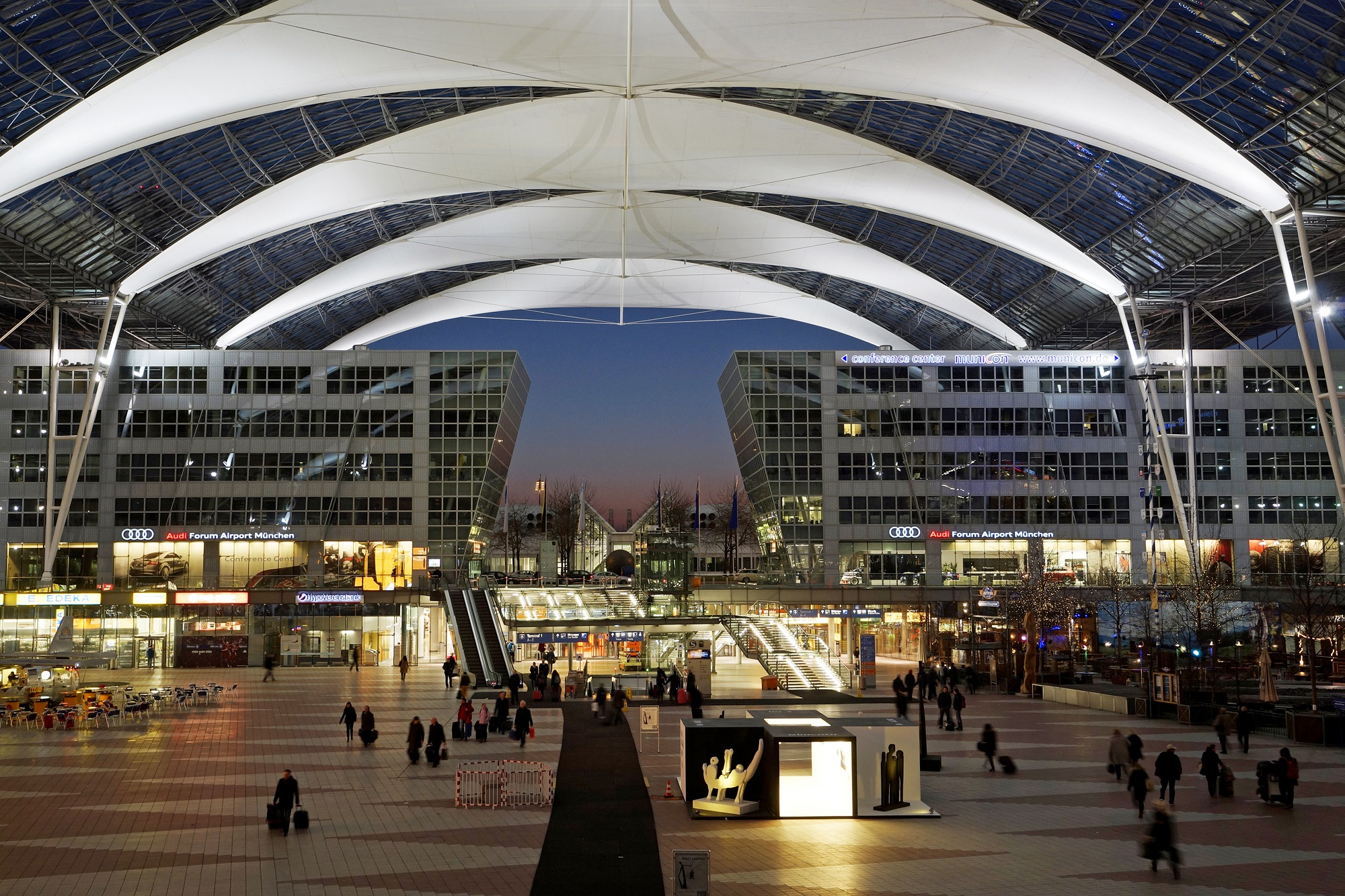 The Munich, Germany airport is seriously one of the best out there.