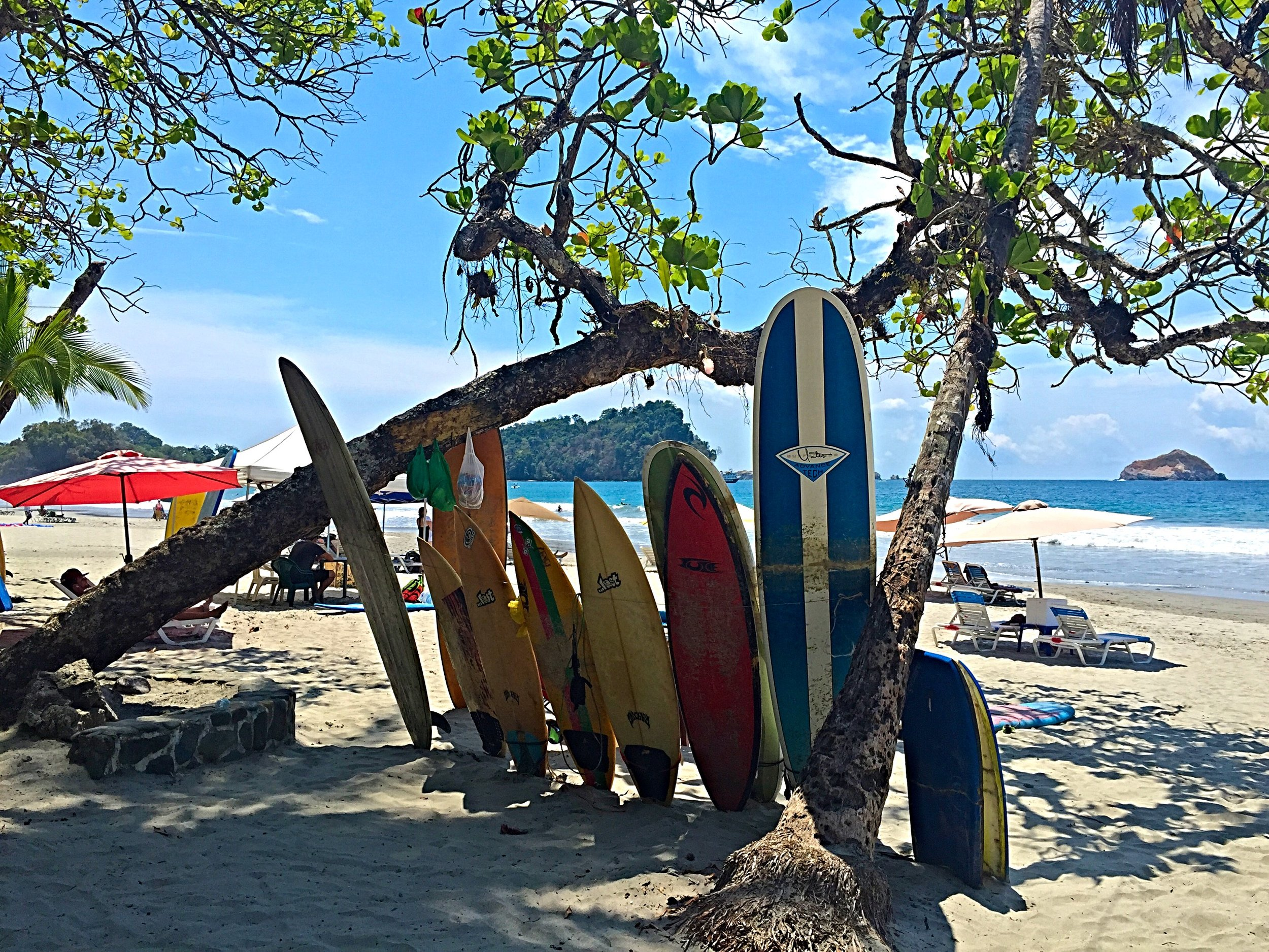 The beaches in Costa Rica are INSANE.  We will also include a free two hour surf lesson from a local in Puerto Viejo!