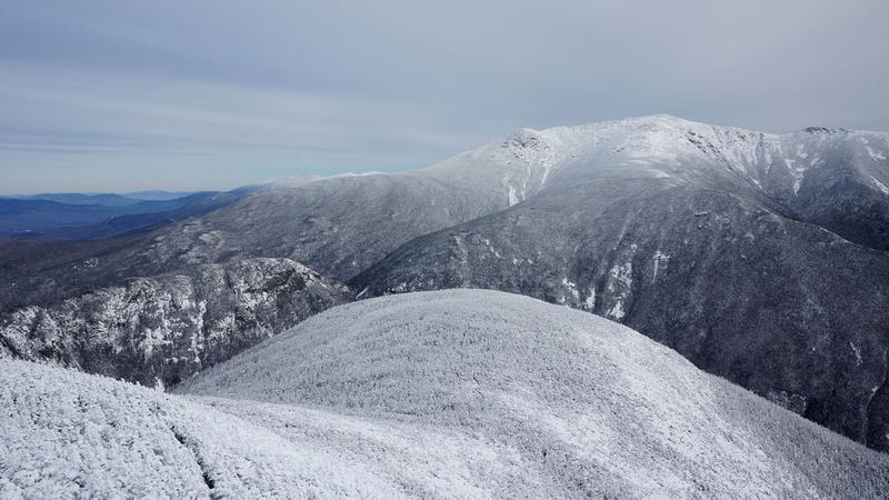Not bad, right? Cannon Mountain Summit via Kinsman Ridge