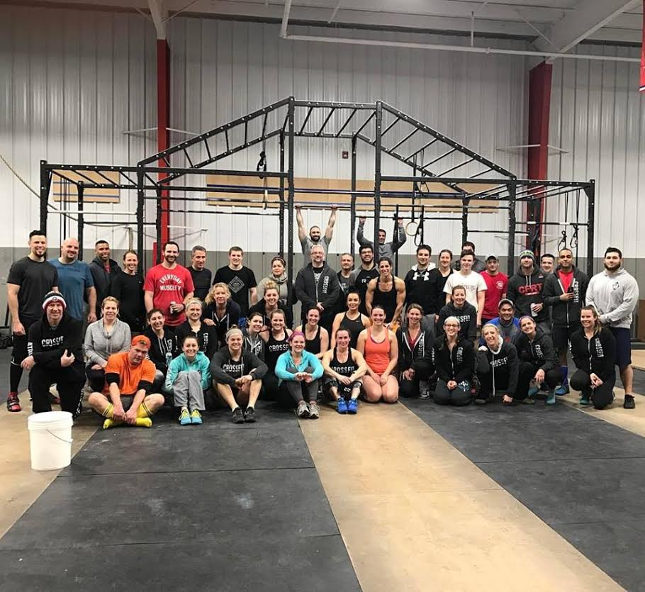 This is what CrossFit is about. Community with no limits.