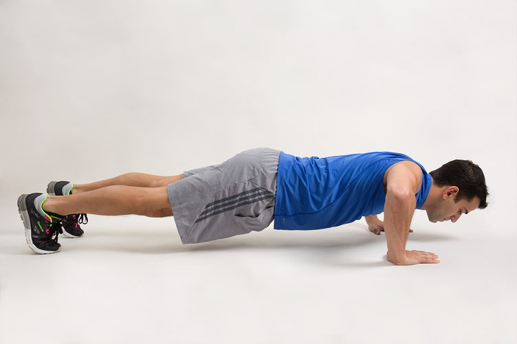 Bad push-up technique- this WILL hurt your shoulders!
