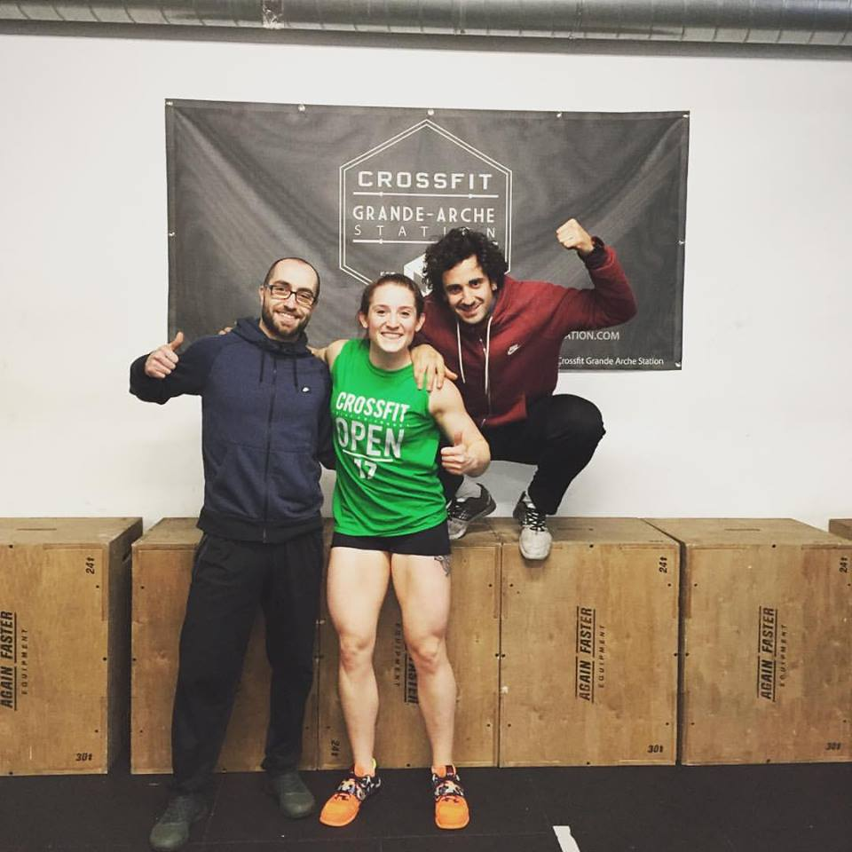 They totally treated me like family. This is what CrossFit is all about.