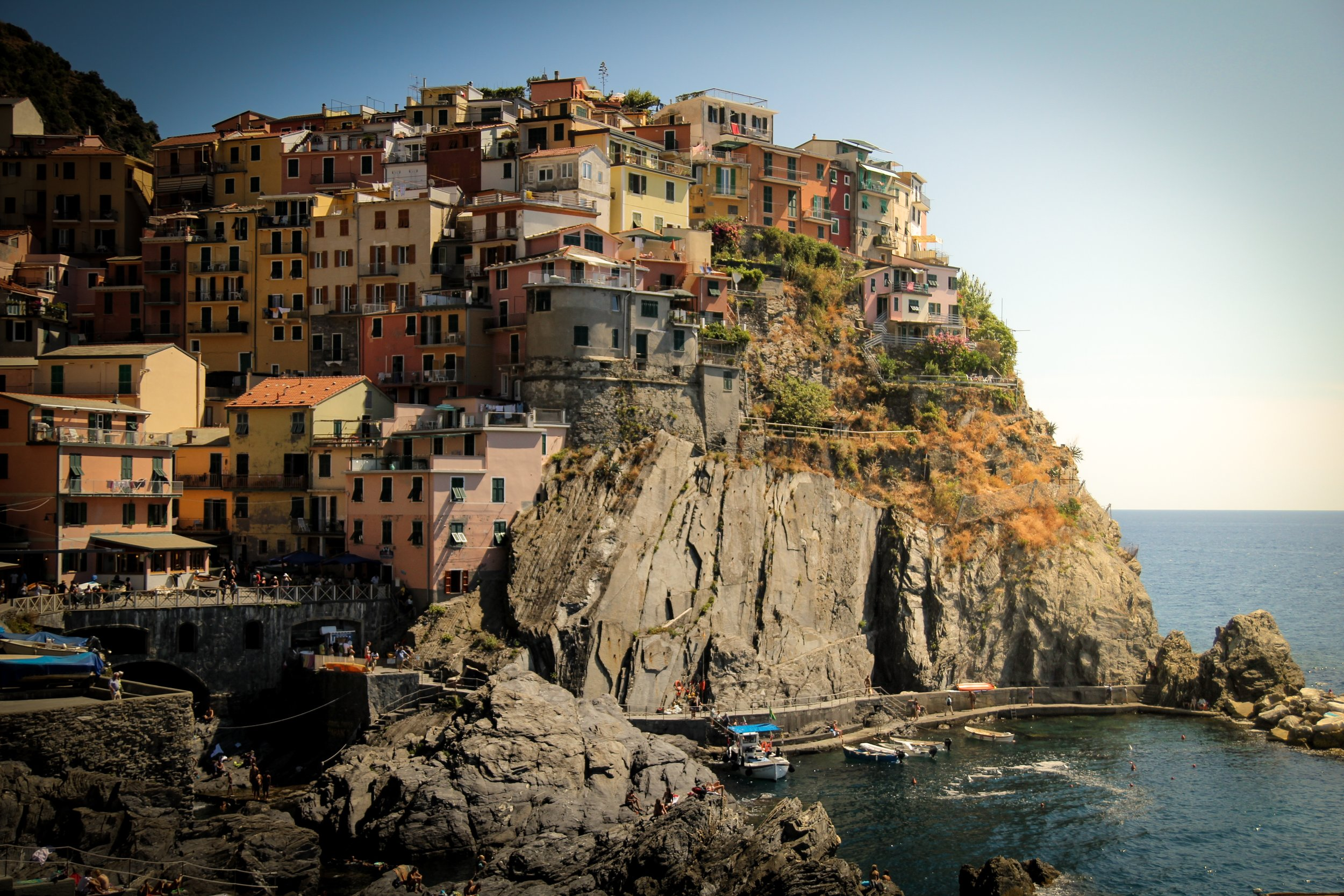 There's not much more beautiful than Cinque Terre. Just a short train ride away from Florence, Italy.
