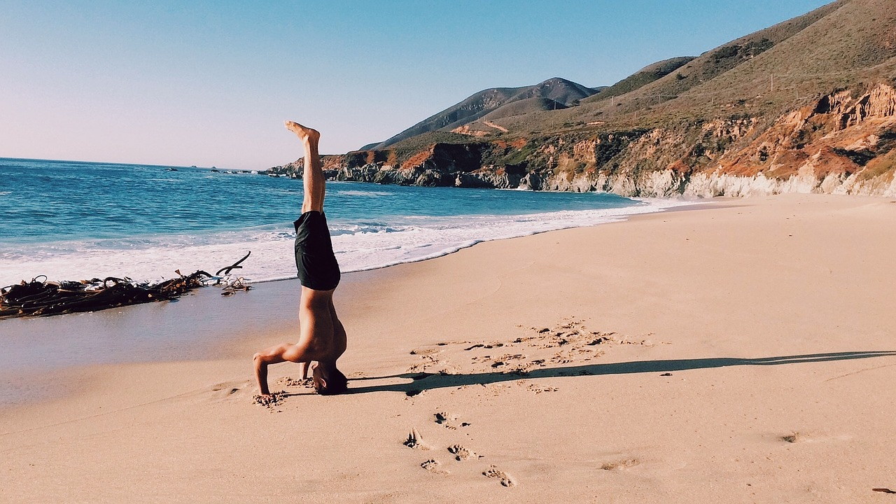 Handstand Push-ups are great for your entire body, but take some getting used to and weeks of practice...stick with it!!!