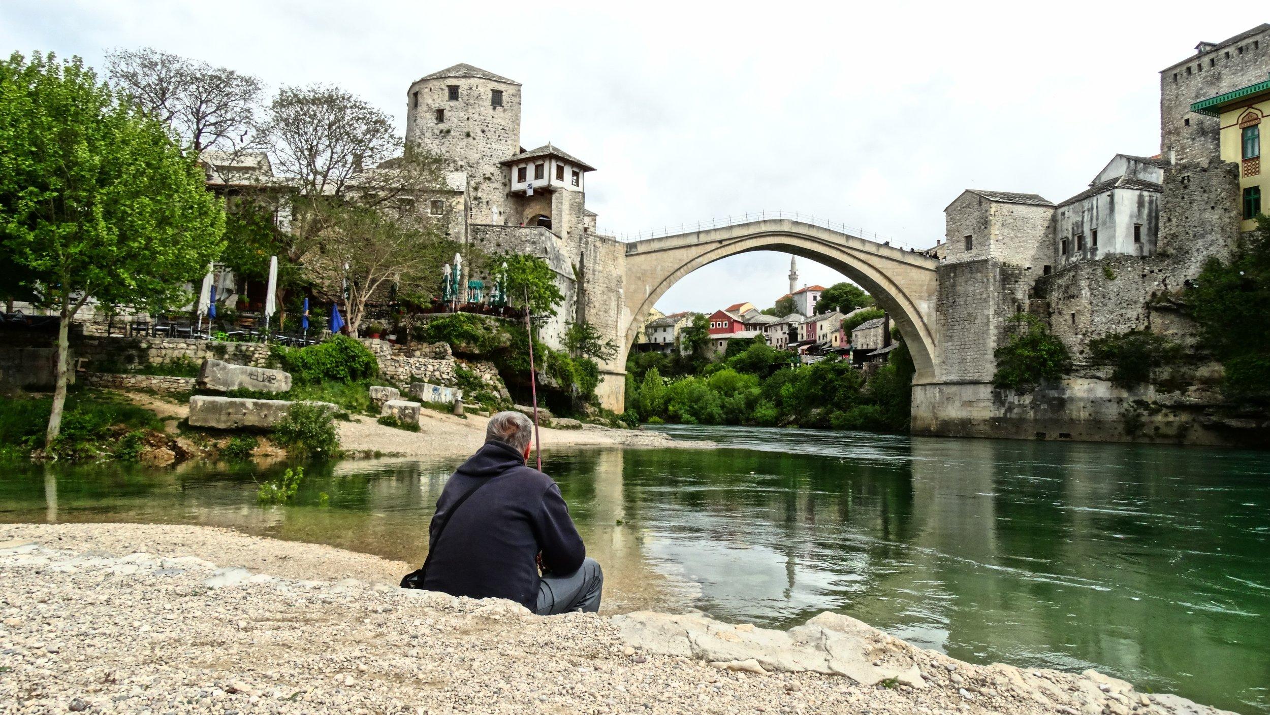 mostar bridge bosnia voyedge rx