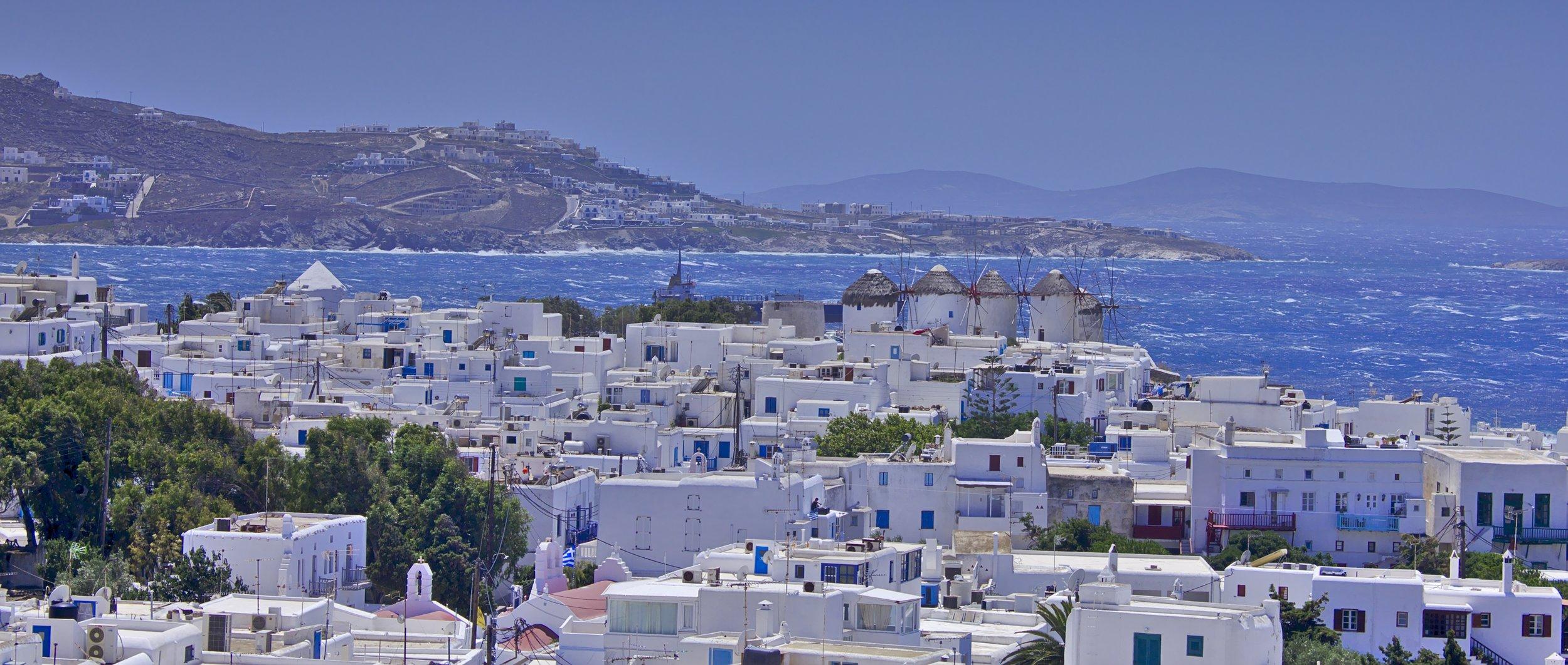 mykonos greece voyedge rx tour fitness travel