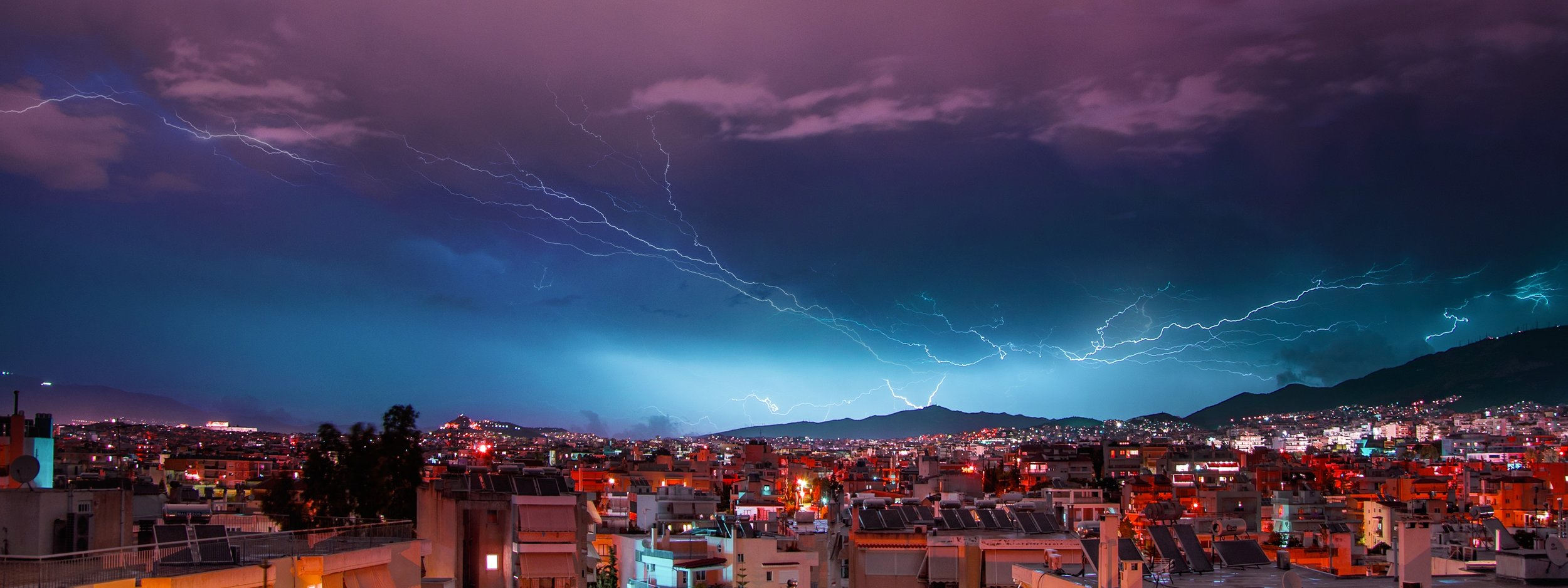 lightning athens
