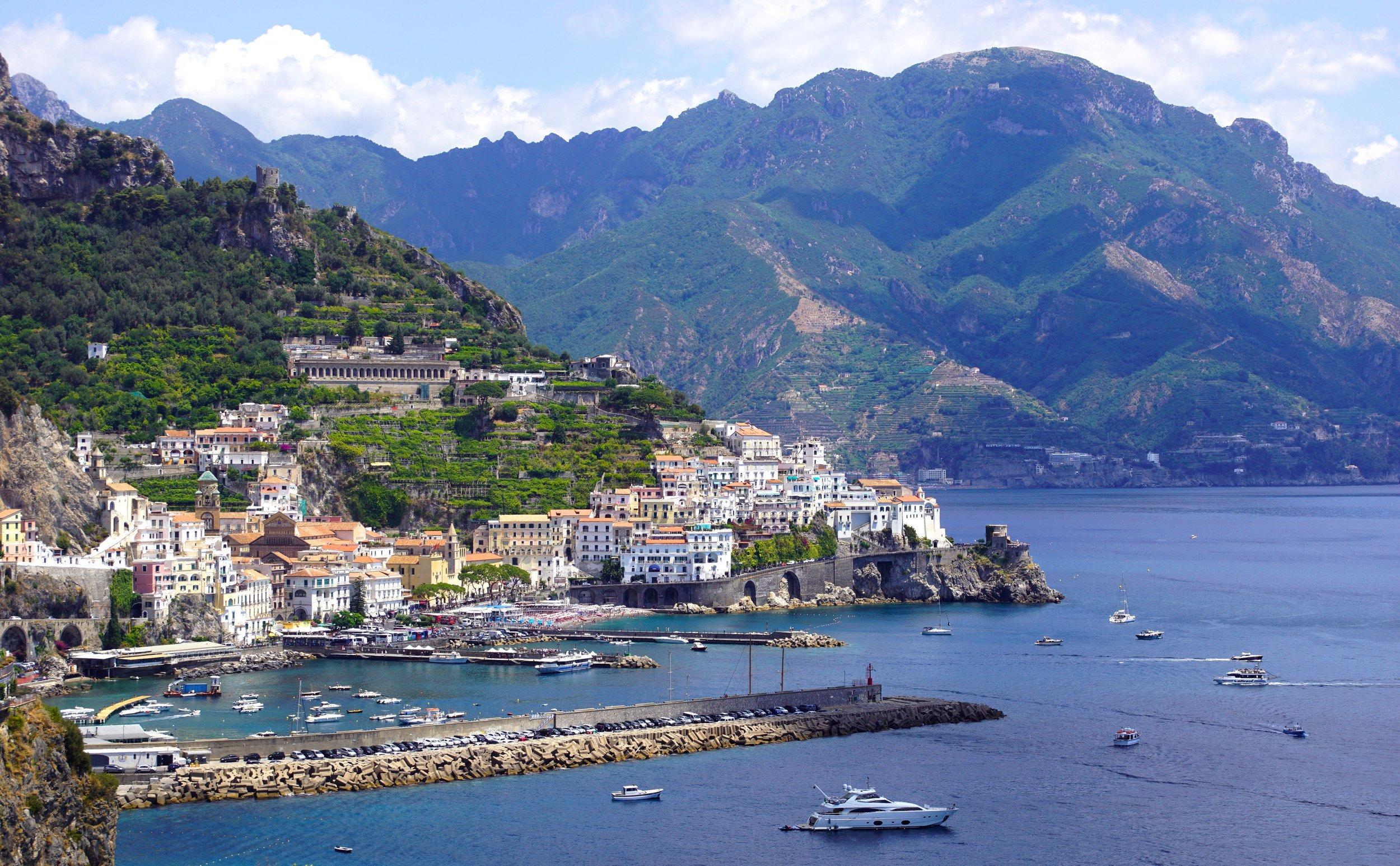 italys amalfi coast positano