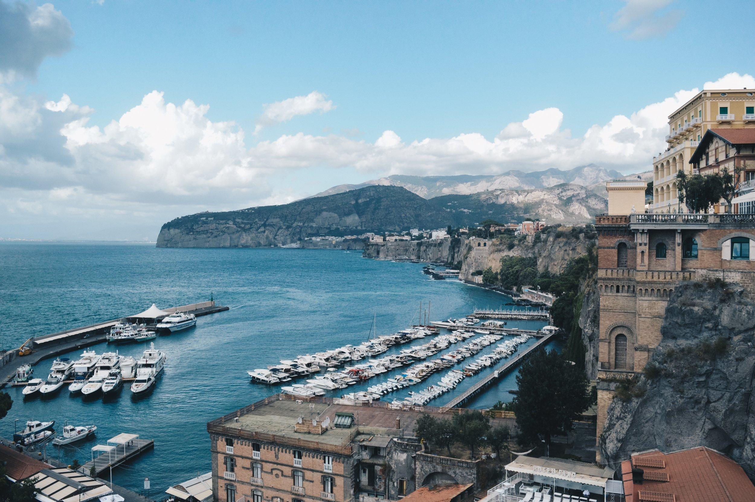 sorrento italy amalfi coast voyedge rx travel fitness