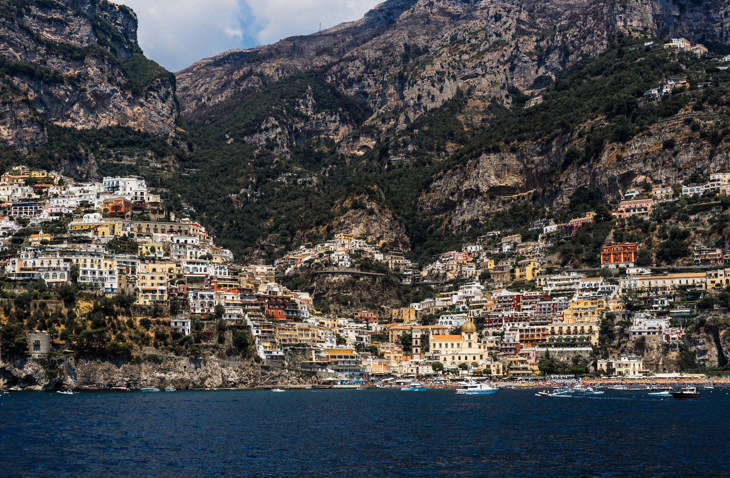 positano italy amalfi coast voyedge rx travel fitness