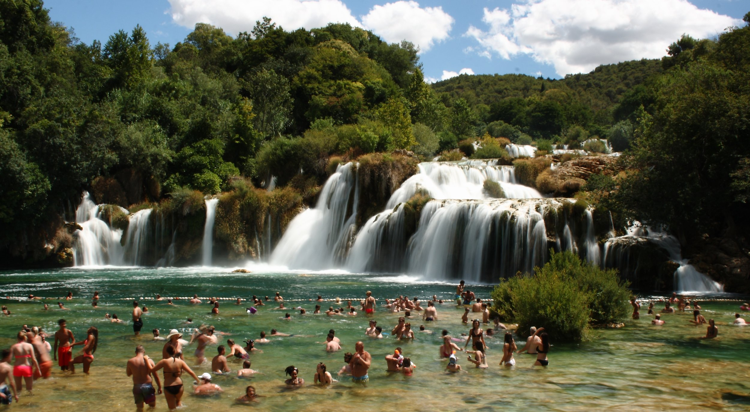 krka national park waterfalls voyedge rx