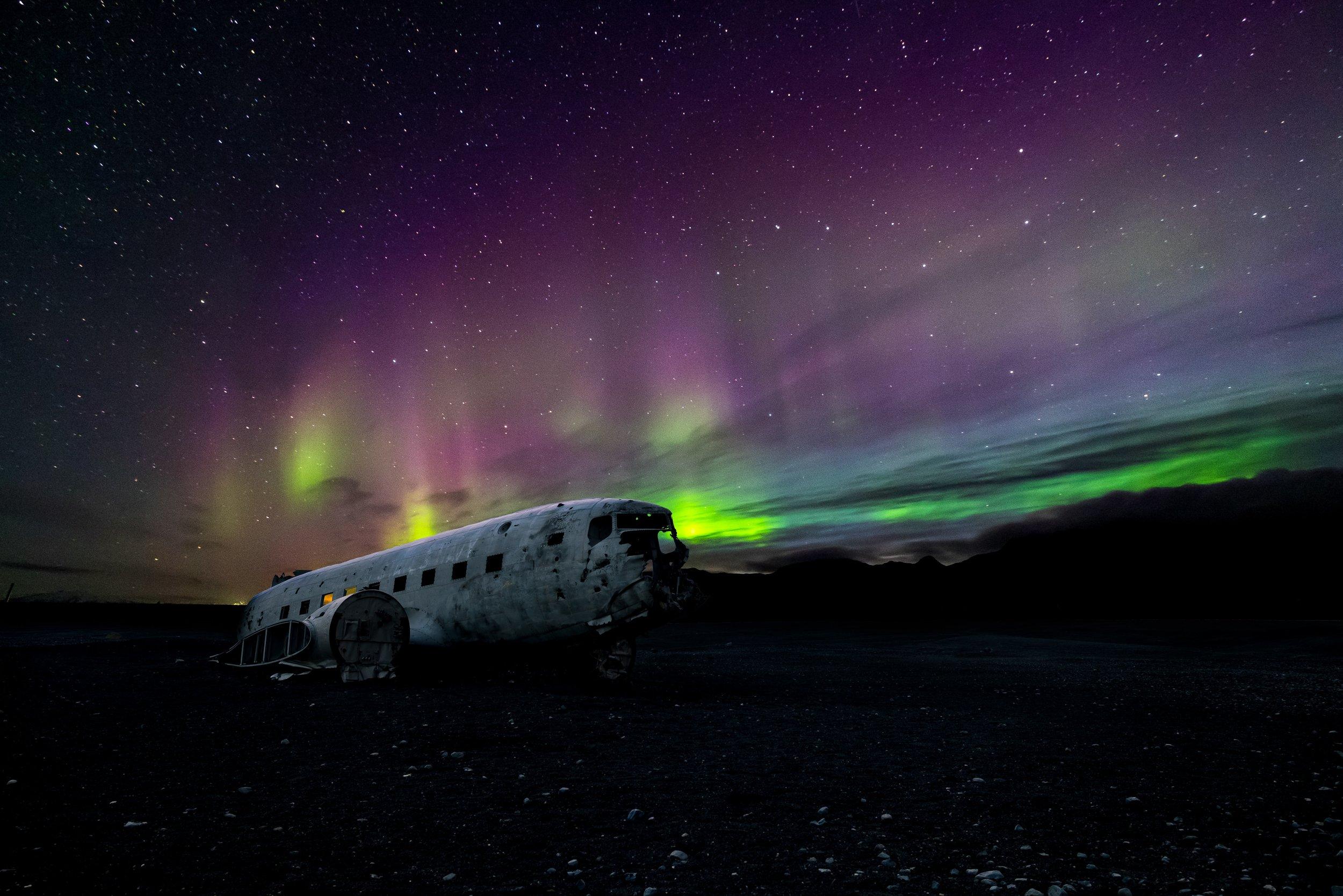 plane wreck iceland voyedge rx travel fitness