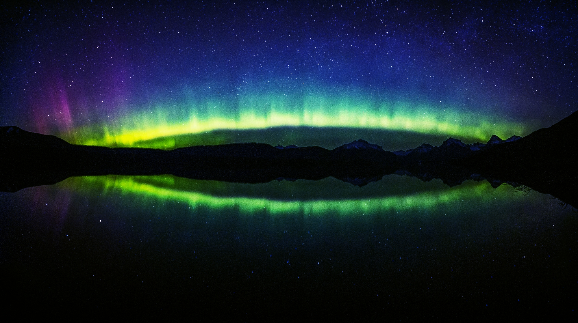 panorama northern lights travel fitness